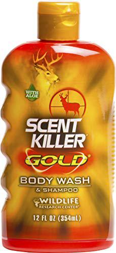 Wildlife Research Scent Killer Gold Body Wash and Shampoo, 12-Ounce?>