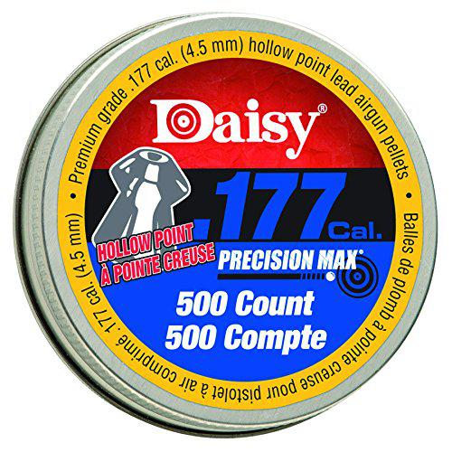 Daisy Outdoor Products 987780-446 0.177 500 Count Hollow Point Pellets, Silver, 4.5 mm?>
