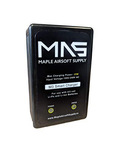 Airsoft Smart Balance Charger - Maple Armouries Premium AC Input 25W 2S 3S Lipo Battery Balance Charger CA Plug?>