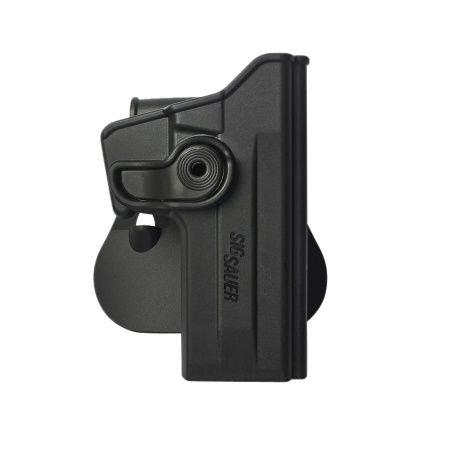 SIG Sauer P228 Polymer Retention Roto Holster Black and a genuine IGWS's firing range earplugs kit.?>