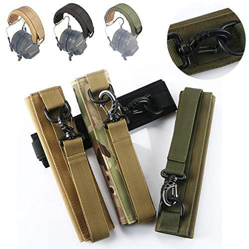 WYMDDYM Advanced Modular Headset Cover Molle Headband for General Tactical Earmuffs?>
