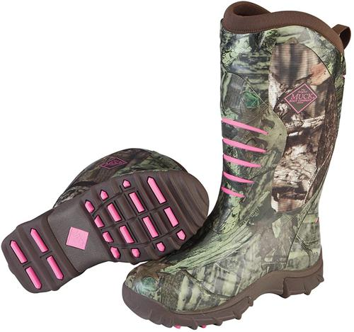 Muck Boot Womens Woman's Pursuit Stealth-K Hunting Shoes?>