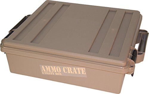 "MTM ACR5-72 Ammo Crate Utility Box with 4.5"" Deep, Medium, Dark Earth?>"