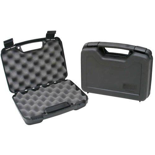 MTM Single Handgun Case for up to 4-Inch Revolver (Black)?>