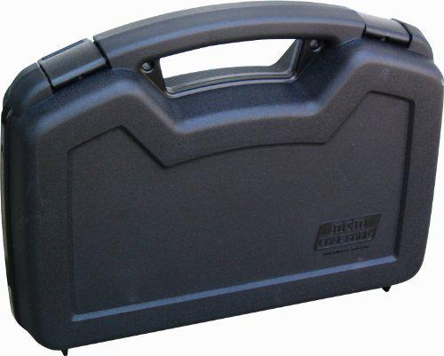 MTM Single Handgun Case for up to 6-Inch Revolver (Black)?>