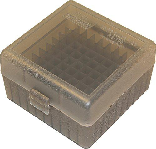 MTM 100 Round Rifle Ammo Box 17, 204, 223, 5.56x45, 6x47?>