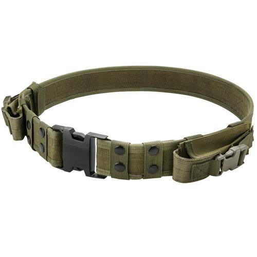 BARSKA Loaded Gear CX-600 Tactical Belt (OD Green) By Barska BI12284 Model Number: BI12284?>