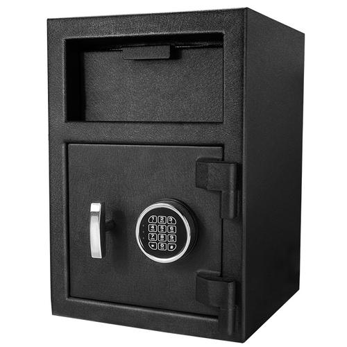 "BARSKA DX-200 Standard Depository Keypad Safe Black 14x14x20"" AX12588 Model Number: AX12588?>"