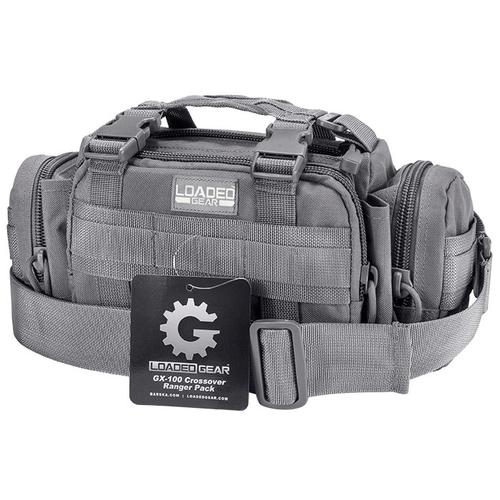 BARSKA Loaded Gear GX-100 Crossover Ranger Pack (Gray)  BI12610 Model Number: BI12610?>