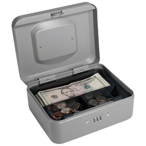 BARSKA Small Cash Box with Combination Lock CB11784 Model Number: CB11784?>