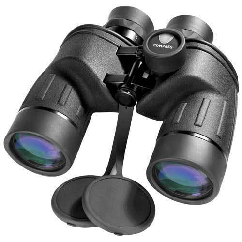 BARSKA 7x50mm WP Battalion Range Finding Reticle Compass Binoculars by Barska AB11042 Model Number: AB11042?>