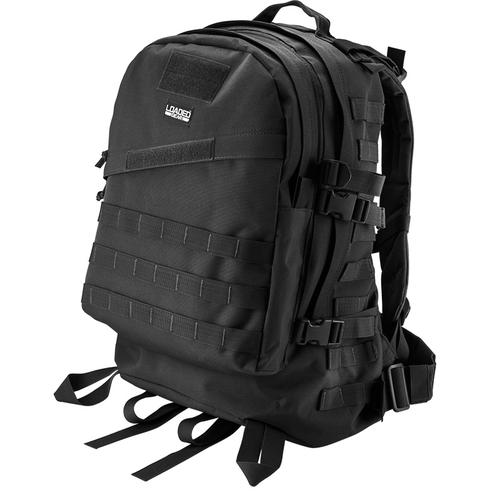 BARSKA Loaded Gear GX-200 Tactical Backpack (Black)  BI12022 Model Number: BI12022?>