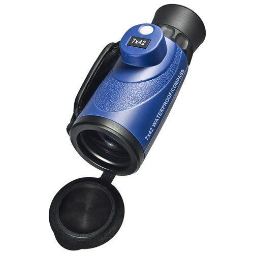BARSKA 7x42mm WP Deep Sea Range Finding Reticle Compass Monocular AA11442 Model Number: AA11442?>