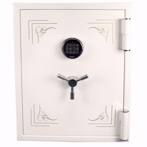 BARSKA 2.75 Cu. Ft. Keypad Fireproof Jewelry Safe, White AX13614 Model Number: AX13614?>