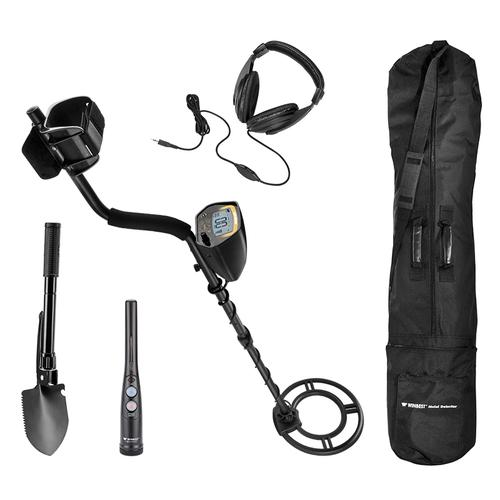 BARSKA Winbest Pursuit Metal Detector Field Kit By Barska BE12748 Model Number: BE12748?>