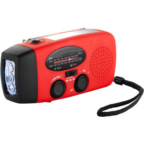 BARSKA Portable Radio with Flashlight and Charger BK12224 Model Number: BK12224?>
