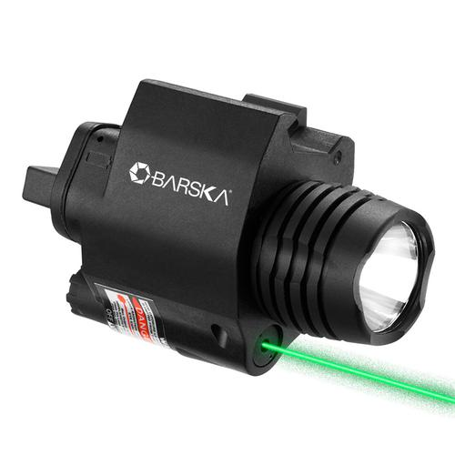 BARSKA Green Laser with 200 Lumen Flashlight By Barska AU12716 Model Number: AU12716?>