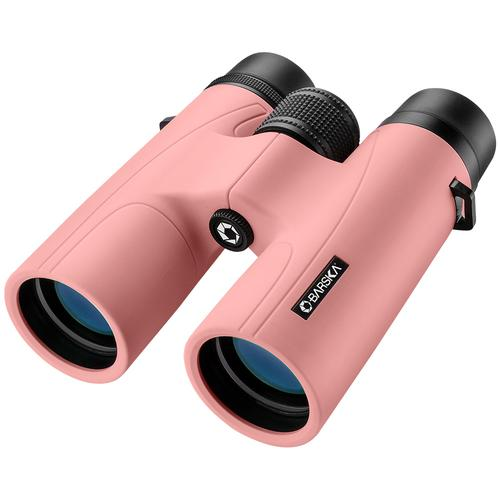 BARSKA 10x42mm Crush Binoculars by Barska (Blush Pink) AB12976 Model Number: AB12976?>