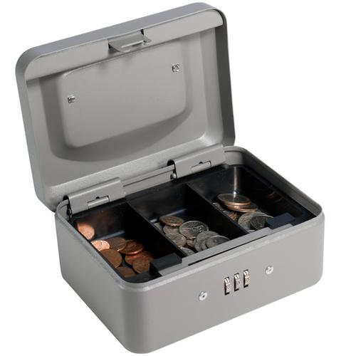 BARSKA Extra Small Cash Box with Combination Lock CB11782 Model Number: CB11782?>