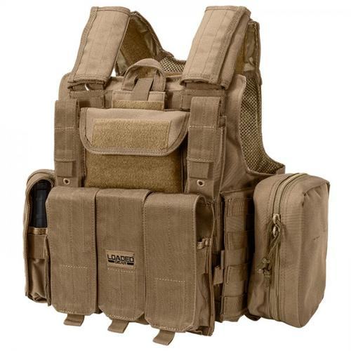 BARSKA Loaded Gear Tactical Vest VX-300 (Dark Earth) BI12308 Model Number: BI12308?>