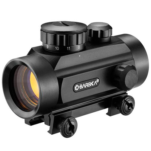 BARSKA 1x 30mm Red Dot Scope by Barska AC10328 Model Number: AC10328?>