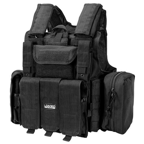 BARSKA Loaded Gear Tactical Vest VX-300 (Black) BI12256 Model Number: BI12256?>