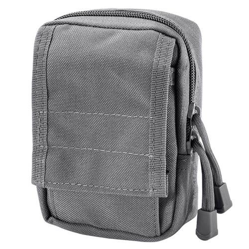 BARSKA Loaded Gear CX-800 Accessory Pouch (Gray) By Barska  BI12634 Model Number: BI12634?>