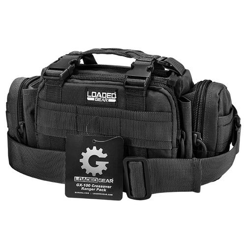 BARSKA Loaded Gear GX-100 Crossover Ranger Pack (Black)  BI12606 Model Number: BI12606?>