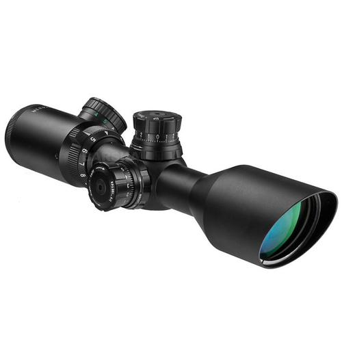 BARSKA 3-9x42mm IR 2nd Generation Compact Sniper Scope by Barska AC11668 Model Number: AC11668?>