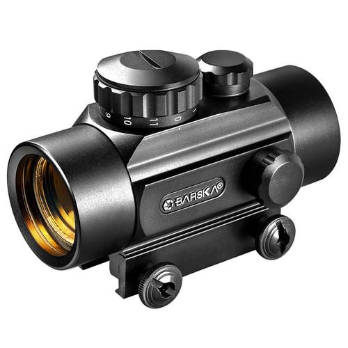 BARSKA 1x 30mm Red Dot Scope w/ 3 Dot Crossbow Reticle by  Barska AC11088 Model Number: AC11088?>