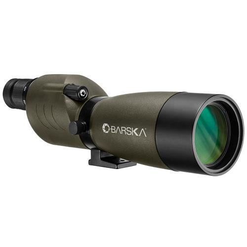 BARSKA 20-60x60mm WP Blackhawk Spotting Scope Straight Green By Barska AD12704 Model Number: AD12704?>