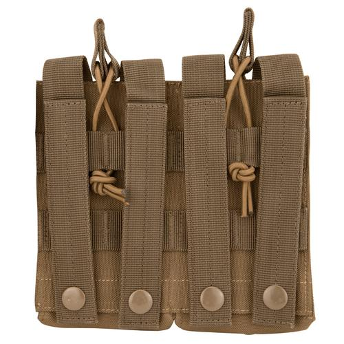 BARSKA Loaded Gear CX-850 Double Magazine Pouch (FDE) By Barska  BI13002 Model Number: BI13002?>