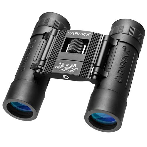 BARSKA 12x25mm Lucid View Compact Binoculars by Barska AB10208 Model Number: AB10208?>