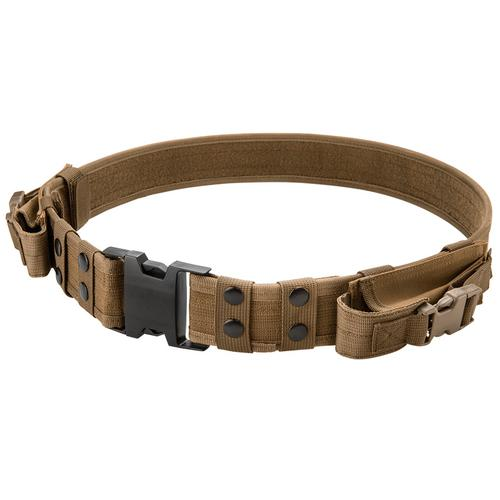 BARSKA Loaded Gear CX-600 Tactical Belt (Dark Earth) By Barska BI12306 Model Number: BI12306?>