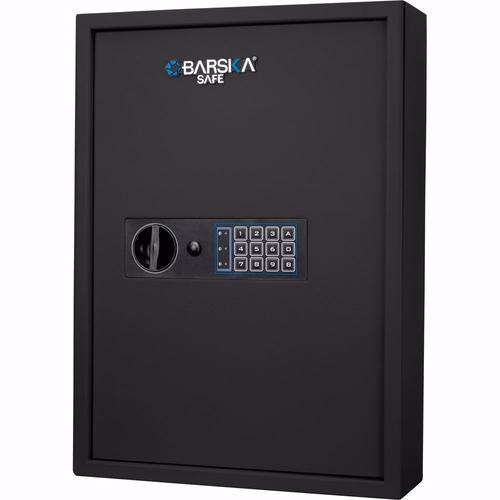 BARSKA 100 Key Cabinet Digital Wall Safe (Black) AX13370 Model Number: AX13370?>