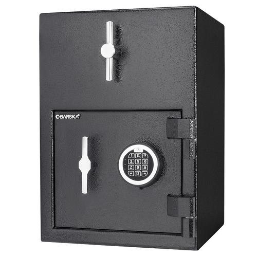 "BARSKA 1.15 Cubic Ft Rotary Hopper Depository Safe 14x14x20"" Black AX13308 Model Number: AX13308?>"