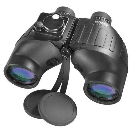 BARSKA 7x50mm WP Battalion Range Finding Reticle w/ Compass Binoculars by Barska AB10510 Model Number: AB10510?>