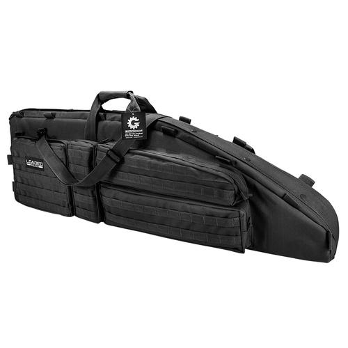 "BARSKA Loaded Gear RX-600 46"" Tactical Rifle Bag (Black)  BI12550 Model Number: BI12550?>"