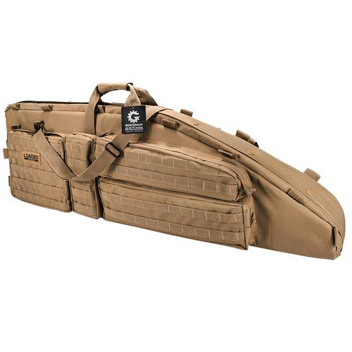 "BARSKA Loaded Gear RX-600 46"" Tactical Rifle Bag (Dark Earth)  BI12552 Model Number: BI12552?>"
