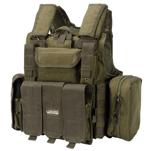 BARSKA Loaded Gear Tactical Vest VX-300 (OD Green) BI12286 Model Number: BI12286?>