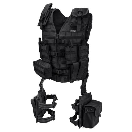 BARSKA Loaded Gear VX-100 Tactical Vest and Leg Platforms BI12016 Model Number: BI12016?>