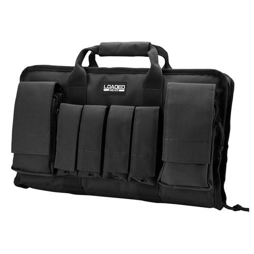 "BARSKA Loaded Gear RX-50 16"" Tactical Pistol Bag (Black)  BI12262 Model Number: BI12262?>"