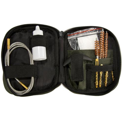 BARSKA Rifle Cleaning Kit w/ Flexible Rod and Pouch AW11960 Model Number: AW11960?>
