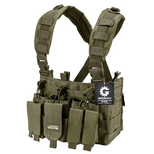 BARSKA Tactical Chest Rig VX-400 Loaded Gear (OD Green) BI12794 Model Number: BI12794?>