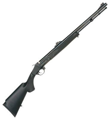 Traditions Buckstalker Compact Muzzleloader with Fiber-Optic Sights?>