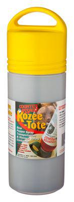 Kozee-Tote Bear Pepper Spray Transportation and Storage Safety Container?>