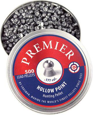 Crosman Premier .177 Caliber Hollow Point Pellets - 500 Count?>
