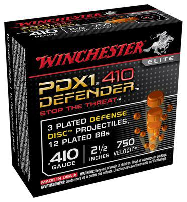 Winchester PDX1 .410 Buckshot/.45 Caliber Ammo for Personal Defense?>