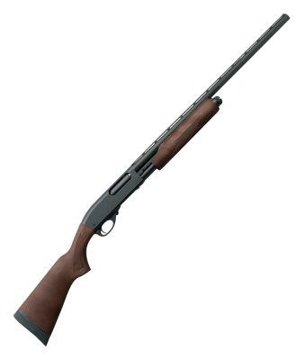 Remington Model 870 Express Pump-Action Shotgun with Hardwood Stock?>