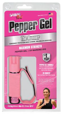 Sabre Red Runner Pepper Gel with Adjustable Hand Strap?>